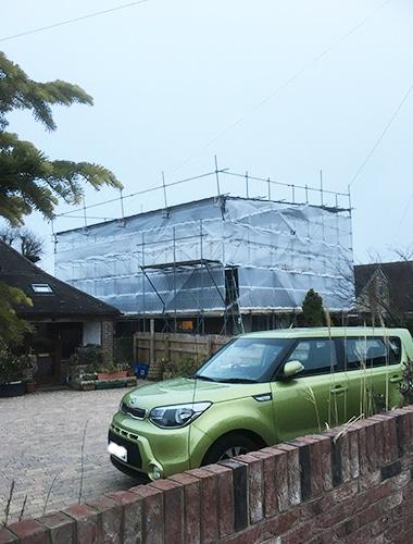 Commercial scaffolding Eastleigh