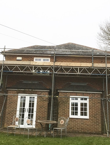 Domestic scaffold Hampshire