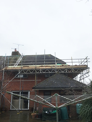 Domestic scaffolders Hampshire