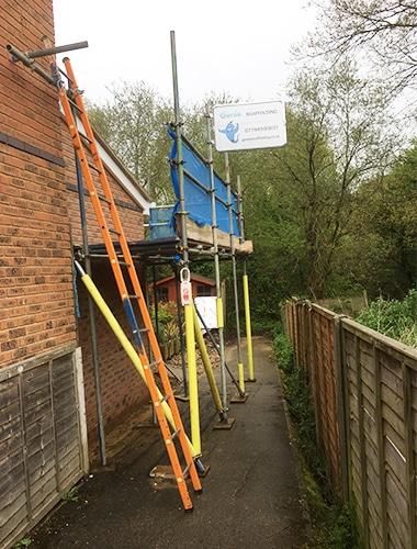Domestic scaffolding Fareham