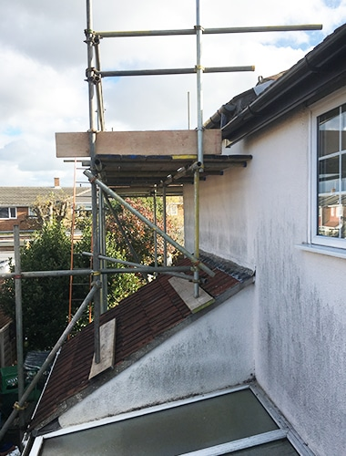 Domestic scaffolding Hampshire