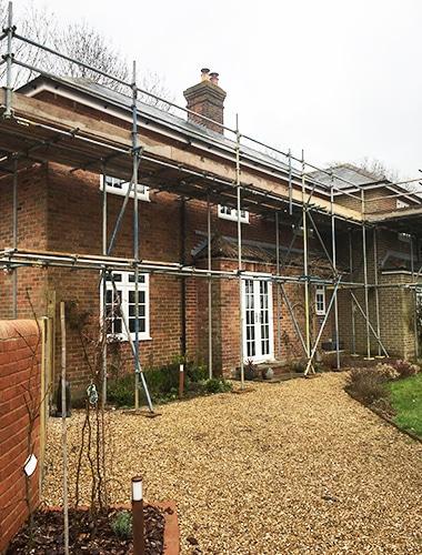 Domestic scaffolding Southampton
