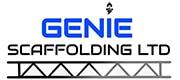Genie Scaffolding logo 180x80